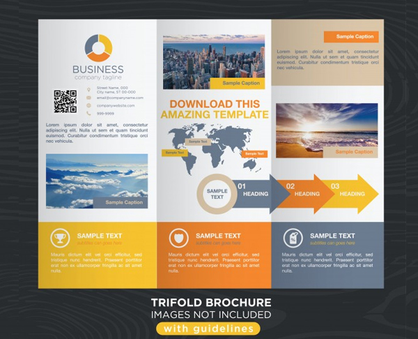 Free Download Colorful Travel Business Brochure Template