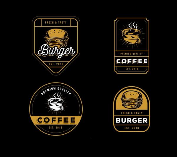 Free Download Beautiful Retro Style Logos