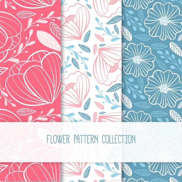 Free Colorful Flower Patterns