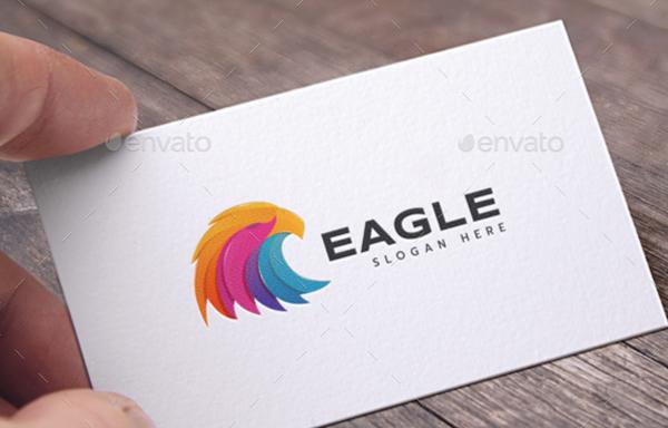 Fully Editable Eagle Logo