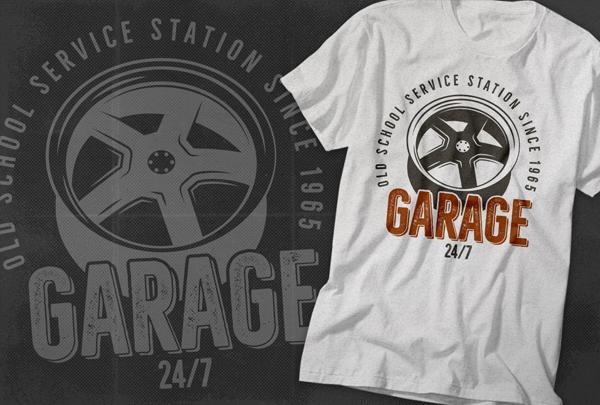 Garage Retro Logo