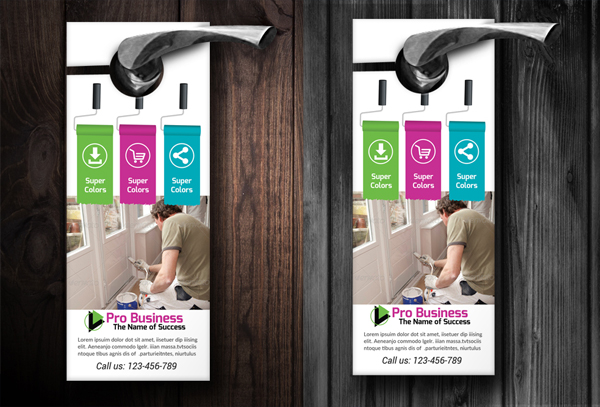 House Painter Door Hangers