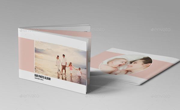 Indesign Family & Baby Photo Album