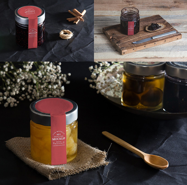 Jar Packaging Mockup Package