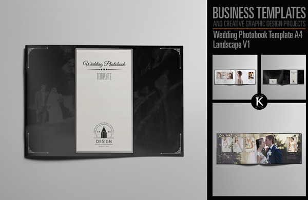 Landscape Wedding Photobook Template