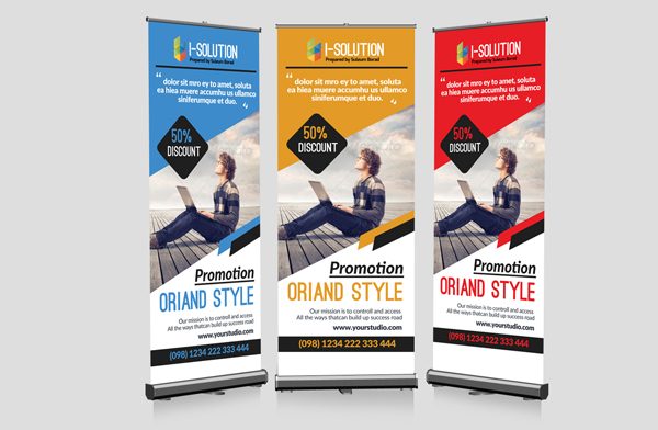 Life Insurance Business Roll Up Banners