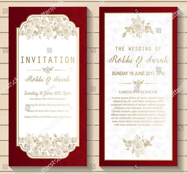 Luxury Dinner Invitation Card Template