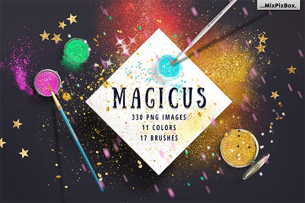 Magicus Dust Color Brushes