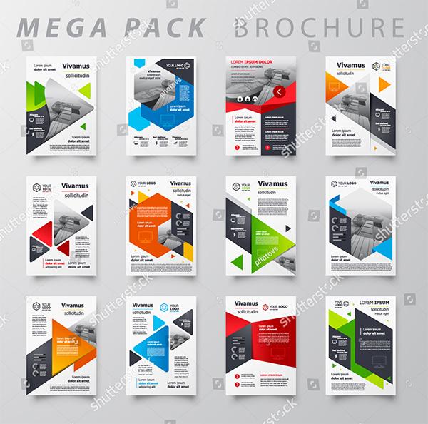 Mega Pack Brochure Design Templates