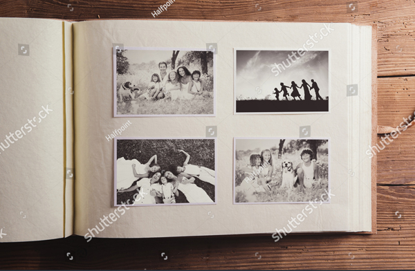 Oll Style Photo Album Design Template