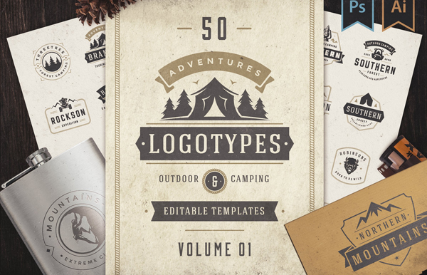 Outdoor Logos and Badges