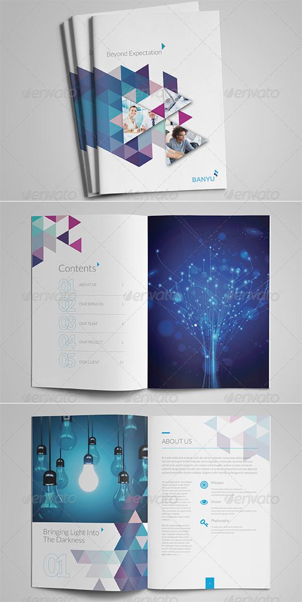 Professional Corporate Brochure Templates