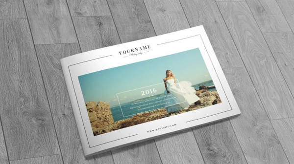 Professional Photographer Wedding Brochure