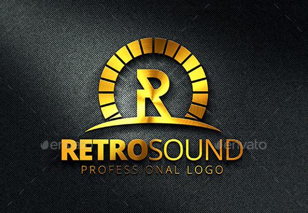 Retro Sound Logo Template