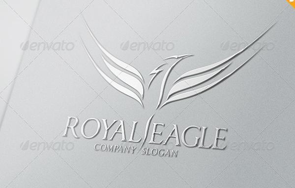 Royal Eagle Logo Design