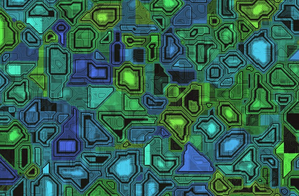 Seamless Stained Glass Background Textures