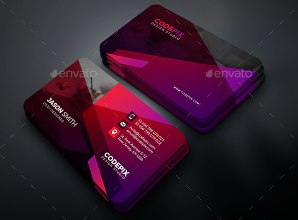 Simple Clean Business Card Templates