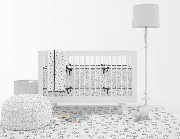 Simple Nursery Mockup Pack Template