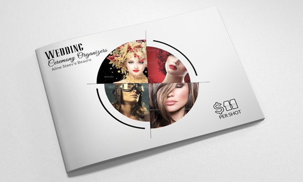 Simple Photography Bifold Brochure Template