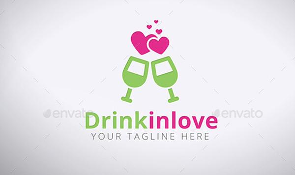 Vector Drink Logo Template