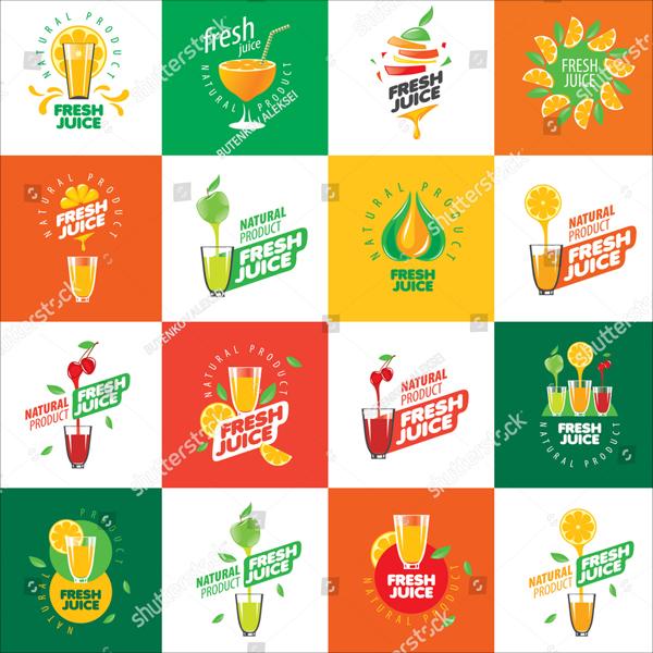 Vector Drink Logos Template