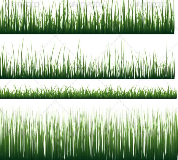 Vector Grass Pattern