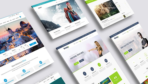 21 website mockup psd templates free premium download