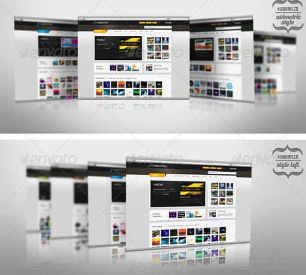 Website Mockup Psd Free: 21+ Website Mockup PSD Templates