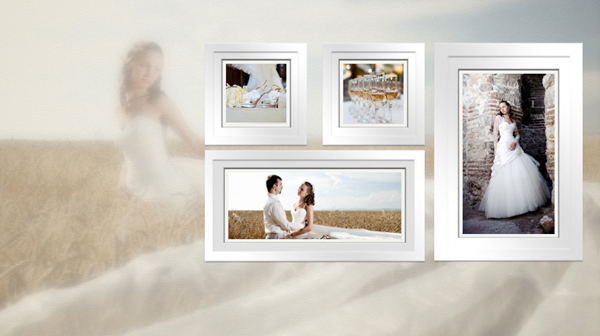 Wedding Album Slideshow Keynote Template