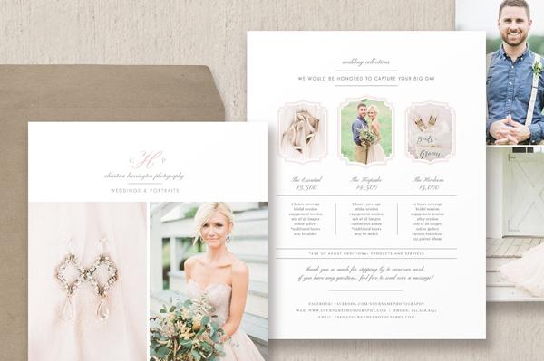 Wedding Photographer Flyer Template