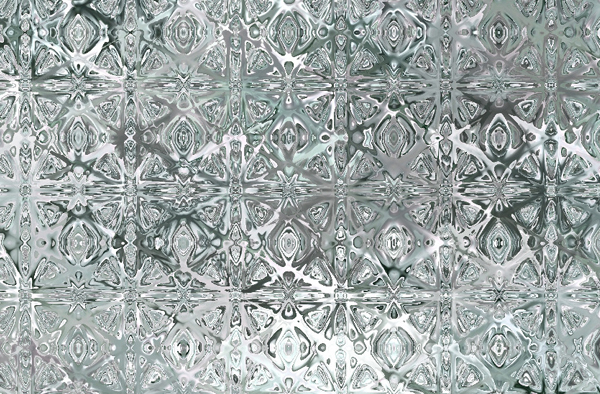 White Stained Glass Pattern Textures