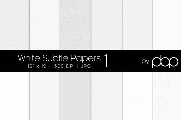 White Subtle Papers Background