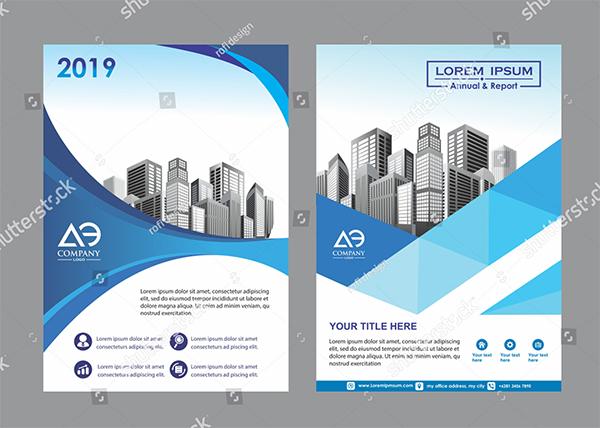 Corporate Vector Brochure Cover