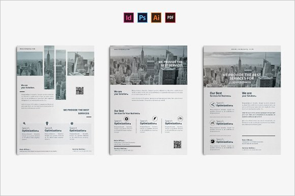 Corporate Brochure Layout Inspire Templates