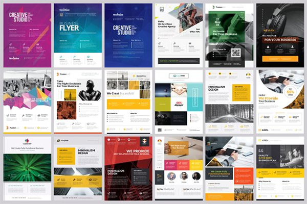 Corporate Brochure Samples