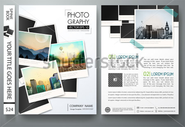 vector Photography Template