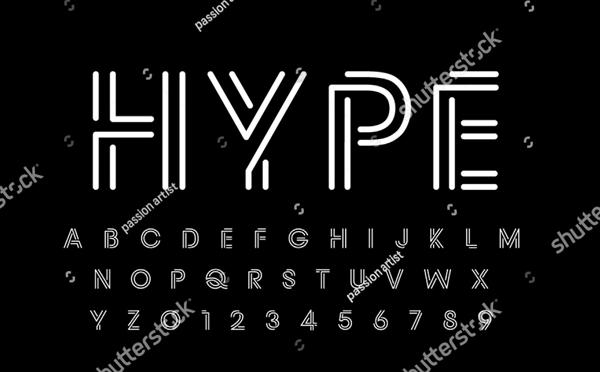 Alphabet Logo Font