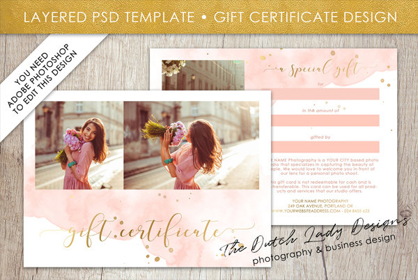 Amazing Graduation Gift Certificate Template