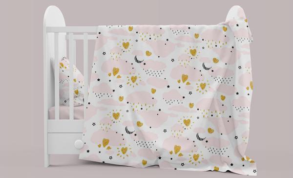 Baby Bedding Mockup