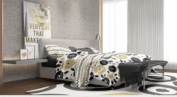 Beautiful Bedding Mockup