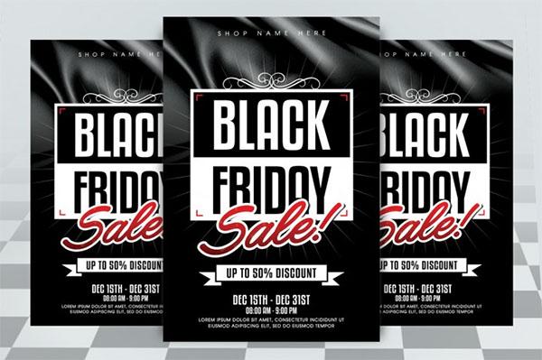 Best Black Friday Sale Flyer Design