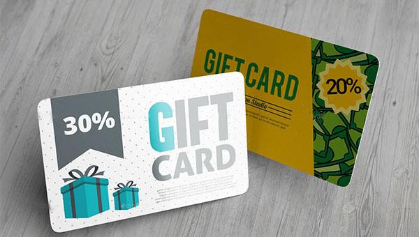 34 best gift card mockup templates free premium psd downloads