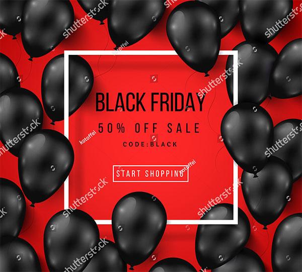 Black Friday Vector Poster Design