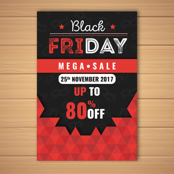 Black Friday Mega Sales Flyer