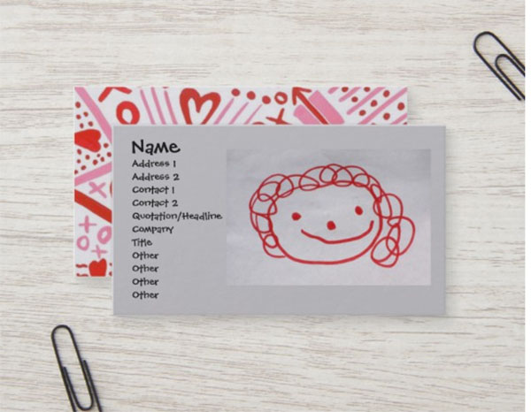 Day Care Business Card Template