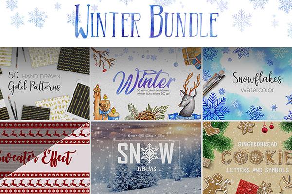 Christmas Gift Card Winter Bundle