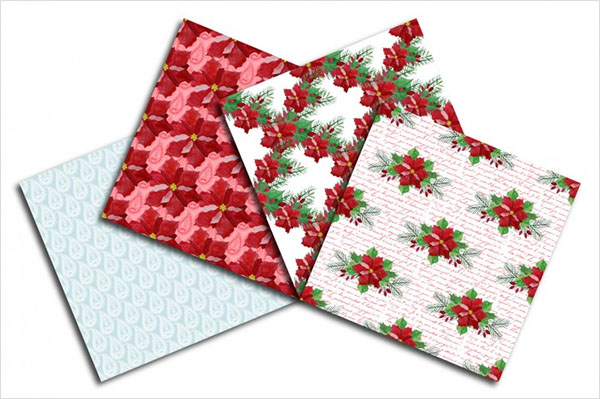 Christmas Seamless Patterns Paper Pack