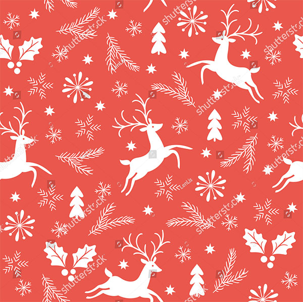 Christmas Vector Pattern Design