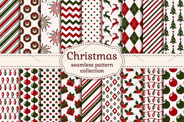 Christmas Seamless Design Patterns