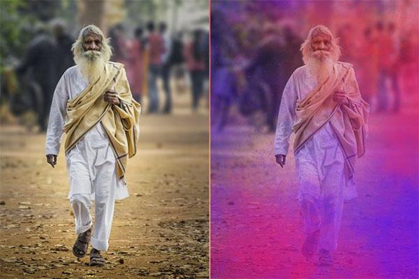Dust Photoshop Brushes Action